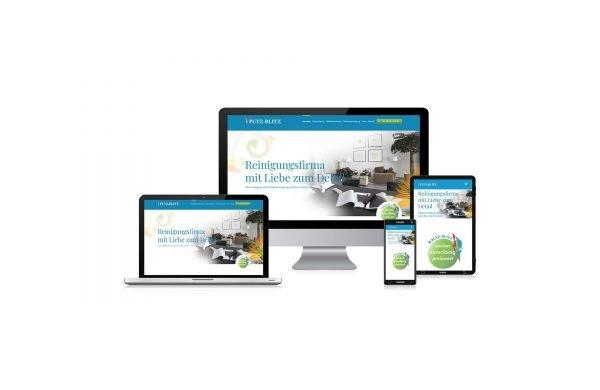 Internet-Seite: responsive und nach CD-Richtlinien gestaltet