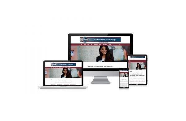 Bilinguale, responsive Website