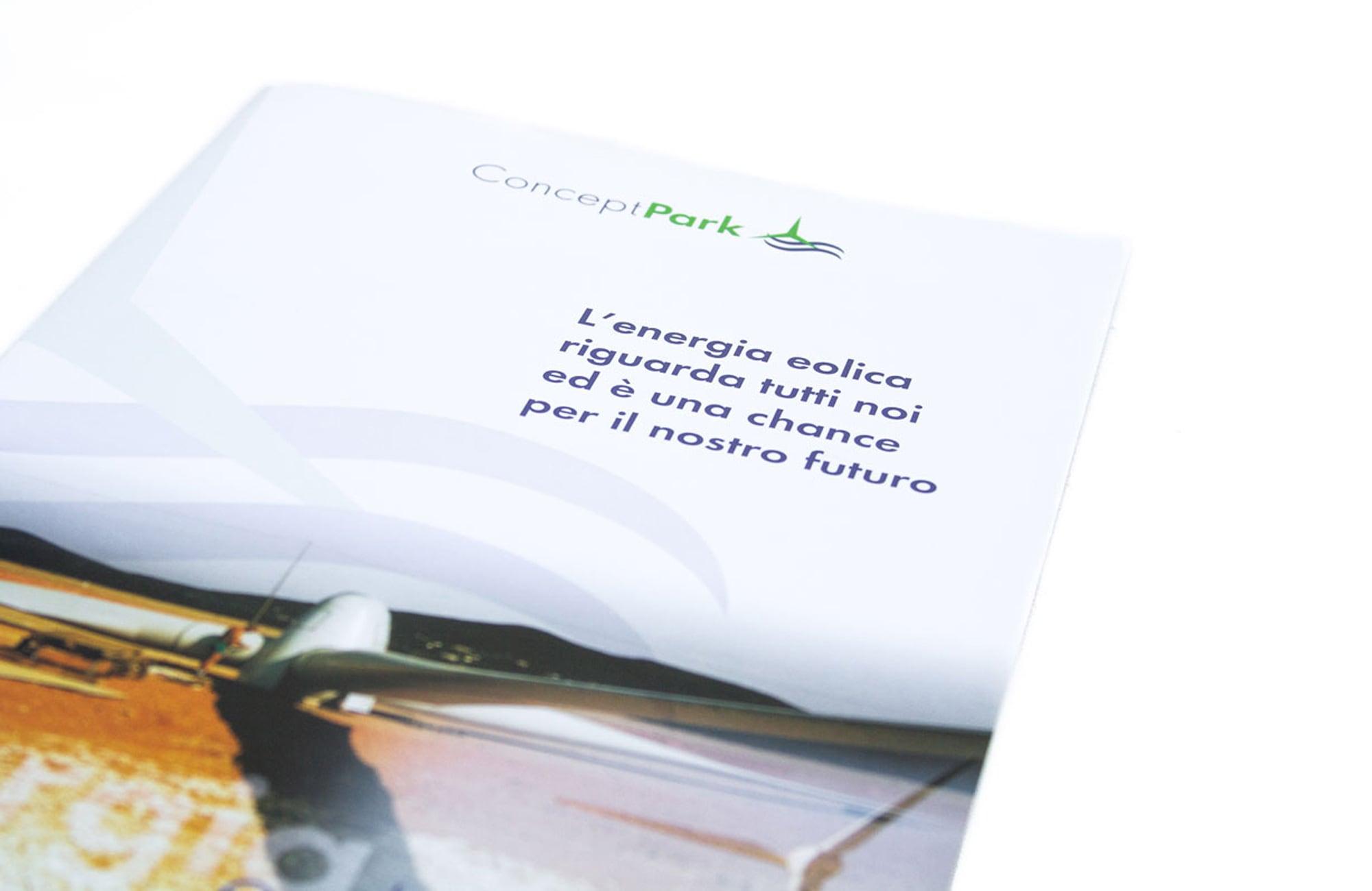 Image-Broschüre nach Corporate Design-Gesichtspunkten
