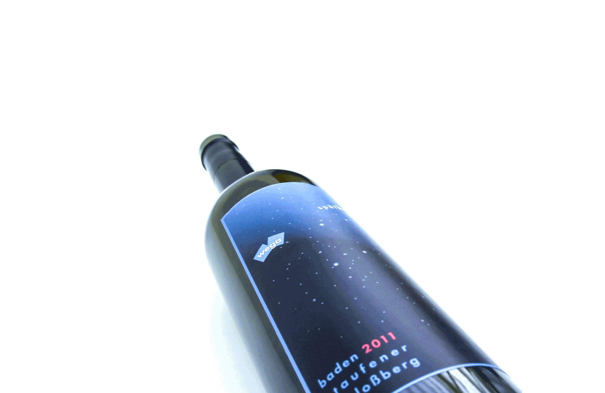 Corporate Wein-Etikett
