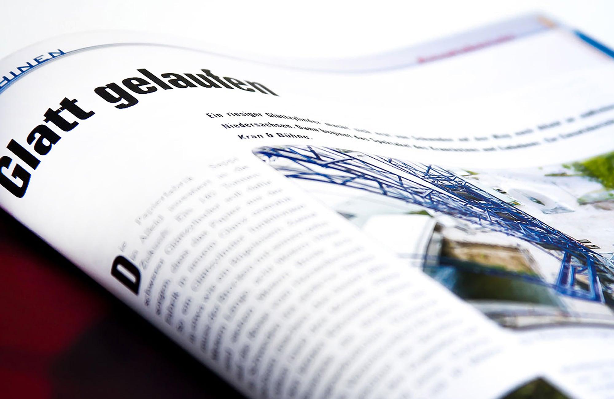 Fachmagazin Innenseite
